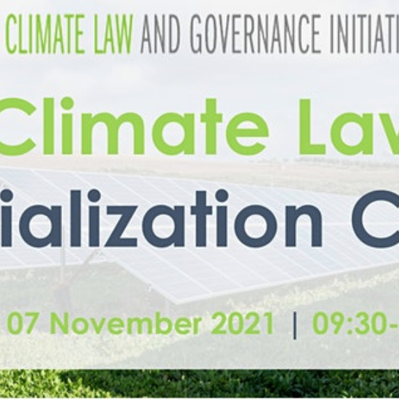 Climate Law and Governance Legal Specialization Course