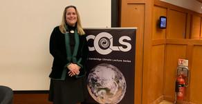 Leverhulme Visiting Professor Marie-Claire Cordonier Segger delivers Trinity College 2020 Cambridge