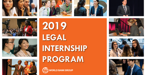 Legal Internship Program with the World Bank