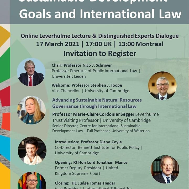 Natural Resources, the Sustainable Development Goals and International Law