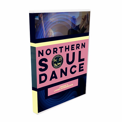 DVD Dance Lesson 4 - Ladies Intermediate