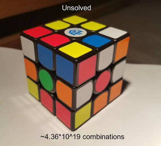 Rubik's Cubes & Entropy