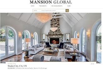 A French Chateau in Southern California