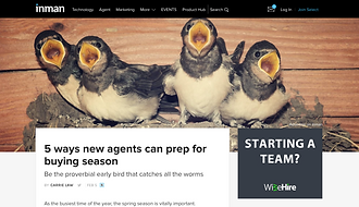 5 ways new agents can prep for buying season
