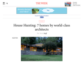 House Hunting: 7 homes by world-class architects