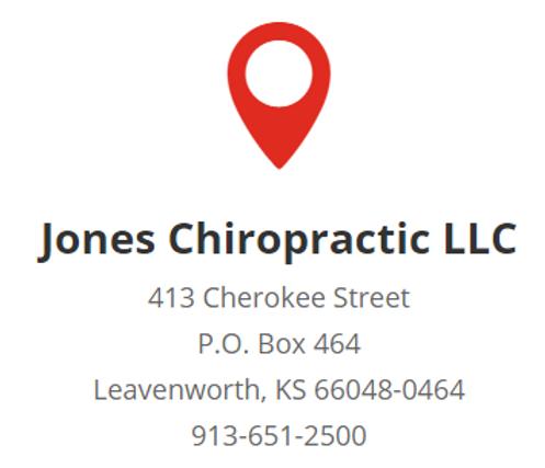 Contact Jones Chiropractic, LLC