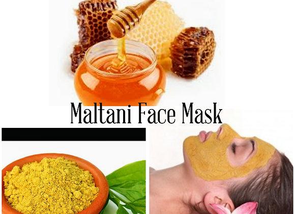 Multani Turmeric Honey Mask