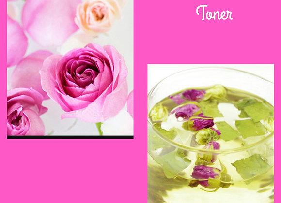Rose Petal Green Tea Toner Spray