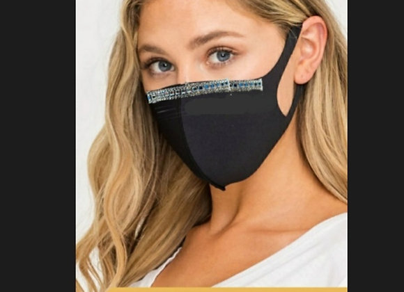 Face Mask Nylon Blk