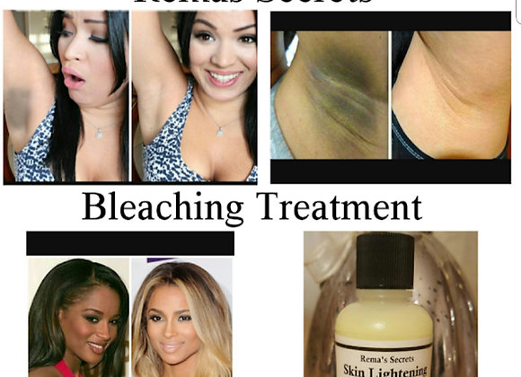 Skin Lightening Gel Bleaching