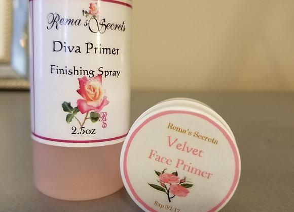 Diva Face Primer Set x2 Gift Set