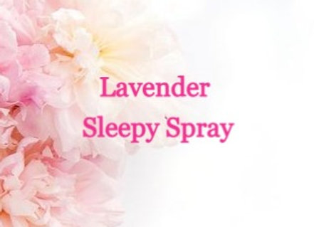 Sleepy Time Spray Lavender