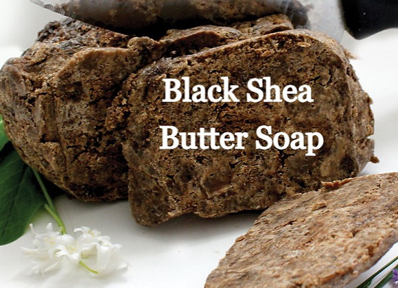 Black Shea Butter Soap