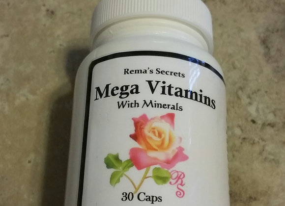 Multi Vitamins W/ Mineral Pills X30