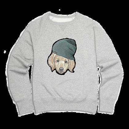 Men's Puppy In A Toque Sweater