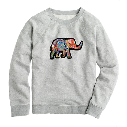 Women's colourful Elephant Sweater
