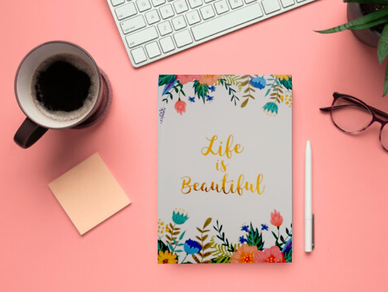 Life is Beautiful Notepad