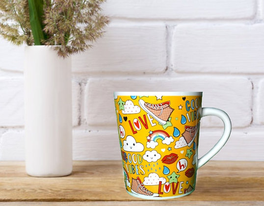 Good Vibes & Love Mug