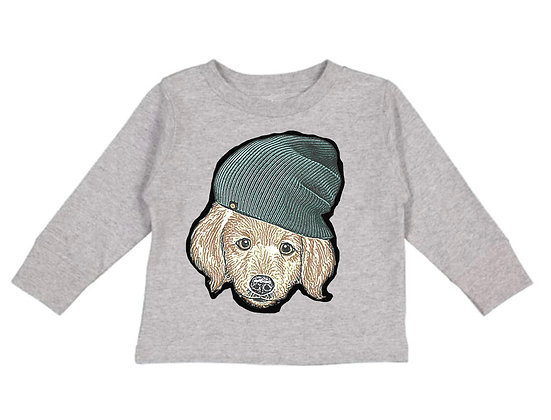 Puppy In A Toque sweater- Toddler
