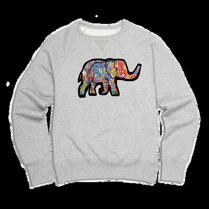 Men's colourful Elephant Sweater