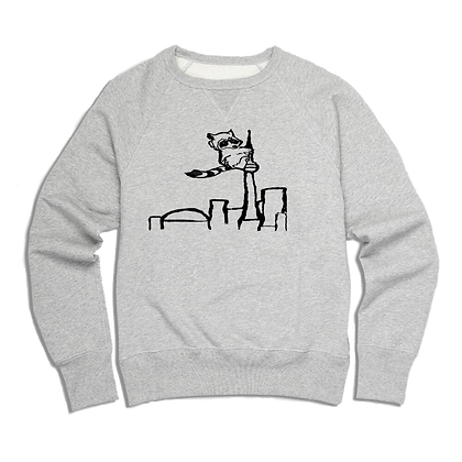 Men's Racoon on the CN Tower Sweater
