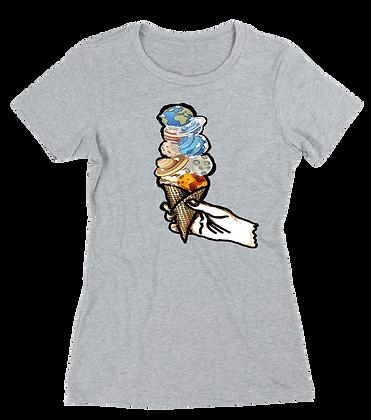 Women's Universe Ice cream t-shirt