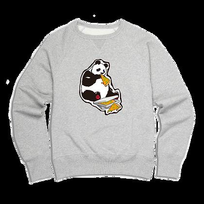 Men's Hungry Pizza Panda Sweater