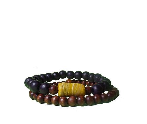 Recycled Yellow Sahara Bracelet