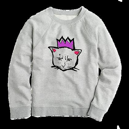 Royal Cat Sweater