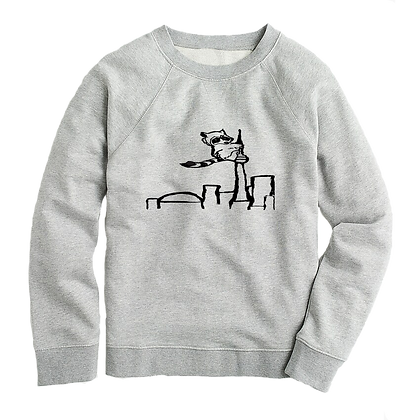 Women's Racoon on the CN Tower Sweater