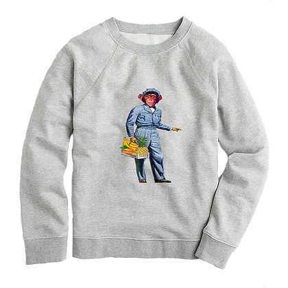 Monkey Milk Man Women's Sweater