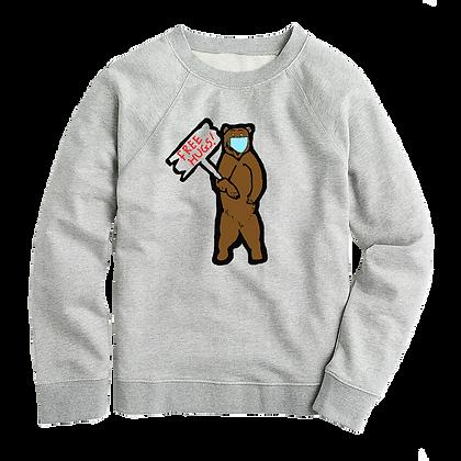 Women's Free Hugs Sweater (Social Distancing)