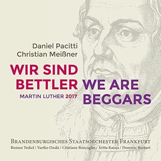 Luther-Oratorium von Daniel Pacitti