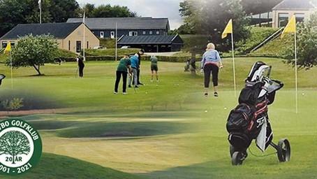 Medlemsejet golfklub i imponerende omgivelser