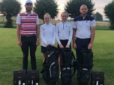 Golf juniorer fik flot 2. plads
