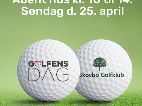 Den 25. april kl. 10-14 er GOLFENS DAG!