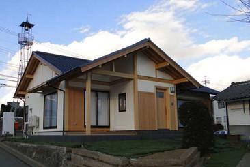 大泉の平屋の家