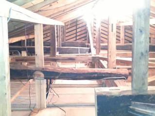 木造小屋組みを生かしたリフォーム計画