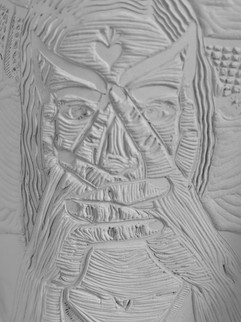 Monday night - ceramic detail