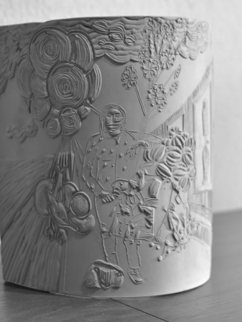 Las Rejas de Chapultepec - ceramic