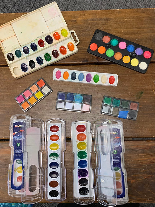 Watercolor Set (Used)