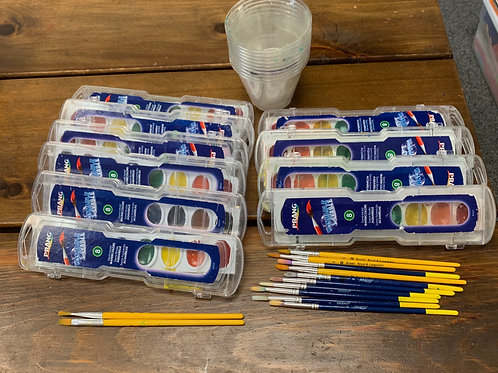 Group Arts:  Watercolor Kit (Used)