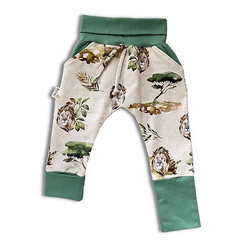 Pantalon ÉVOLUTIF lion/vert