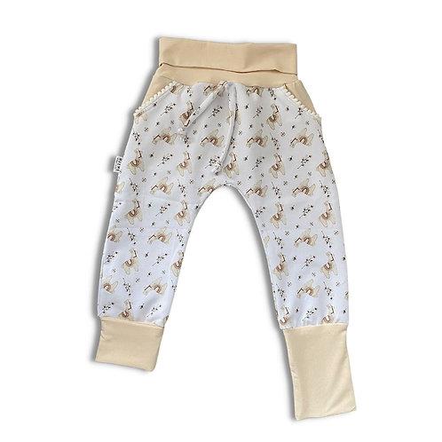 Pantalon ÉVOLUTIF lama crème