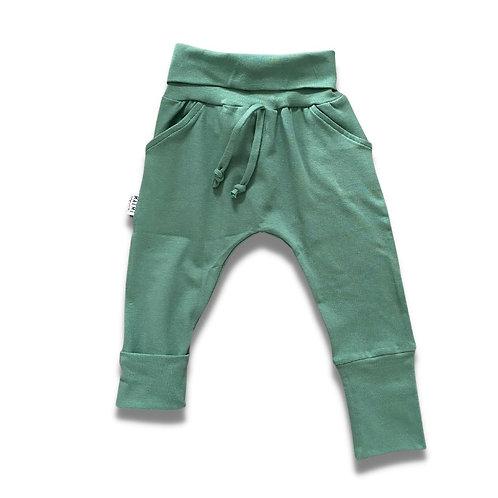 Pantalon ÉVOLUTIF uni vert