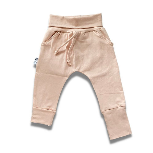 Pantalon ÉVOLUTIF uni blush