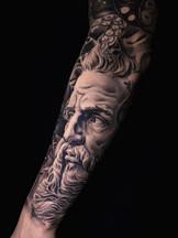 poseidon tattoo tattoo san diego