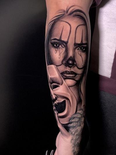 Tattoo of _Angie e.ramirez thank so much