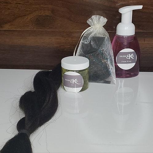 Bun It Up Package- Dark Hair