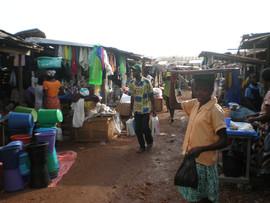 market in Ho